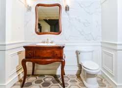 Salle de bain classique – traditionnelle