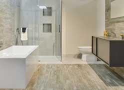 Salle de bain contemporain